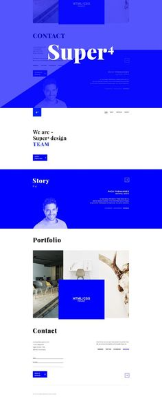 Super4 Modern Responsive Theme. HTML/CSS Themes. $5.00
