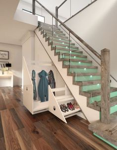 Разновидности отделки лестницы