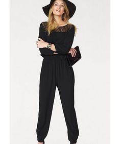 b52d084fa10b (ebay link) Vero Moda Joca Jumpsuit Black Size L UK 12 14 rrp