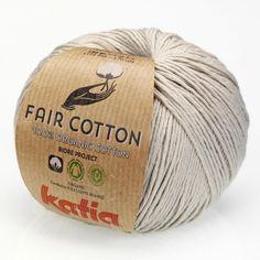 Fair Cotton von Katia, perlhellgrau