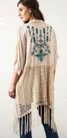 Crochet Duster