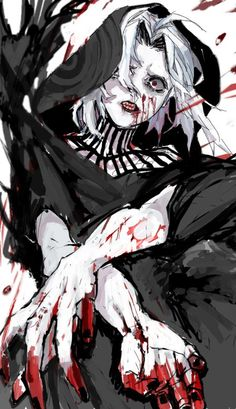 Seidou Takizawa. Tokyo Ghoul:re  Credits to the artist