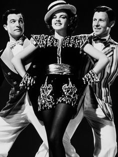 Gene Kelly, Judy Garland and George Murphy (For Me And My Gal, 1942).