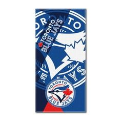 Show off your love for the Toronto Blue Jays whether you're at the pool or the beach with this impressive x Oversized Puzzle Beach Towel by The Northwest Company. Everyone will know that you are a diehard Toronto Blue Jays fan. Major League Baseball Teams, Mlb Teams, Mlb Blue Jays, Double Play, Oversized Beach Towels, Toronto Blue Jays, Beach Blanket, Cincinnati Reds, Swimming Pools