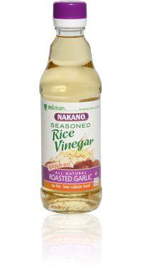 NAKANO - Roasted Garlic Seasoned Rice Vinegar - Mizkan