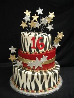 1000 Images About Sweet 16 Birthday Cakes By Party