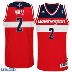 John Wall Washington Wizards Revolution 30 Swingman Road Jersey-Red John  Wall Adidas 3c9f2c2c5