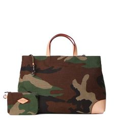 London tote in camo Cordura ($325 from MZ Wallace)