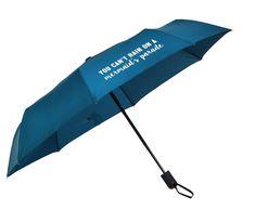 You Can't Rain on a Mermaid's Parade Compact Umbrella Mermaid Parade, Compact Umbrella, Mermaid Gifts, Rain Gear, Blue Rain, When It Rains, Smart Jokes, Dancing In The Rain, Rainy Days