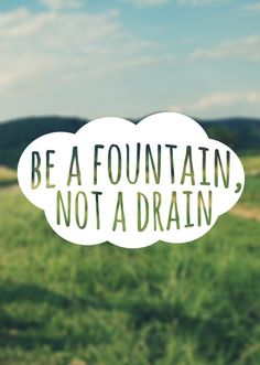 Meer energie challenge | Be a fountain not a drain