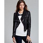 Quotation: Doma Jacket - Asymmetric Washed Leather