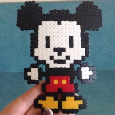Mickey Mouse hama beads by kppyrooney