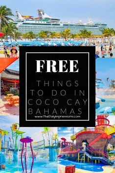 Royal Caribbean Ships, Royal Caribbean Cruise, Best Cruise, Cruise Vacation, Travel With Kids, Family Travel, Best Travel Deals, Free Beach, Water Activities