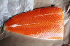 Alaskan Wild Coho salmon from Foragers City Grocer in NYC