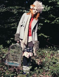 noirfacade: Nomade Land | Madisyn Ritland by Paul Schmidt for Jalouse October 2011