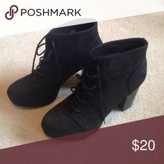 H&M booties Only worn once. Very good condition. H&M Shoes Ankle Boots & Booties