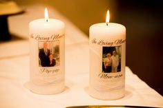 Wedding Memorial Candles (with instructions) | Bobbins of Basil, photo by Sean Marshall Lin