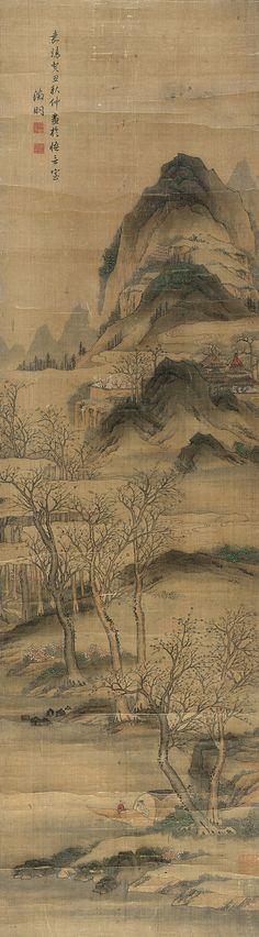 LANDSCAPE - Wen Zhengming(1470-1559) MING DYNASTY