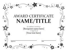 A good looking Certificate Brochure Template to create certificates.