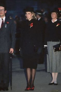 princess diana at falklands service 1982 images | 1984- Attended the Service Of Remembrance, Cenotaph, Whitehall London