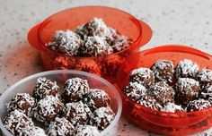 My cacao protein balls were a very handy snack during the challenge