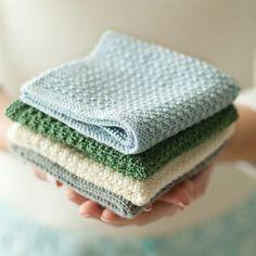 Sploshy Washcloth - Free Pattern