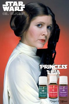 Star Wars Blends – I love you – I know – Home Recipe Essential Oil Scents, Essential Oil Diffuser Blends, Young Living Oils, Young Living Essential Oils, Diffuser Recipes, Star Wars, Princess Leia, Doterra, Aromatherapy