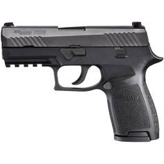 """Looking for a concealed carry gun? Check out the SIG Sauer P320 in 9mm with 3.9"""" barrel, 15 round magazine and fixed sights. #sigsauer #concealed carry"""
