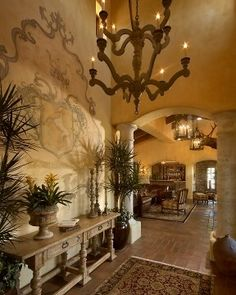 Entry Photos Old World Tuscan Design, Pictures, Remodel, Decor and Ideas - page 14