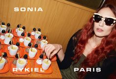Sonia Rykiel Spring Summer 2015 Ad Campaign with Elisabeth Jagger, photographed by Juergen Teller