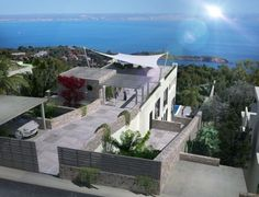 Villa with sea views in Costa den Blanes, Portals, Palma de Mallorca