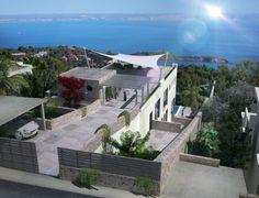 Villa with sea views in Costa den Blanes, Portals, Palma de Mallorca