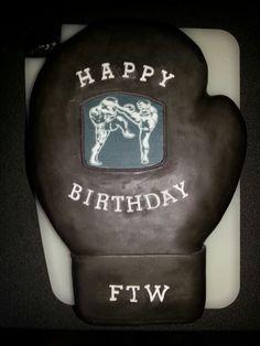 Boxhandschuh Torte