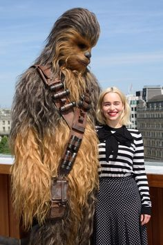 "Emilia Clarke – ""Solo: A Star Wars Story"" Photocall In London"