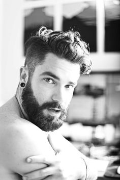 beard and hair cut is great
