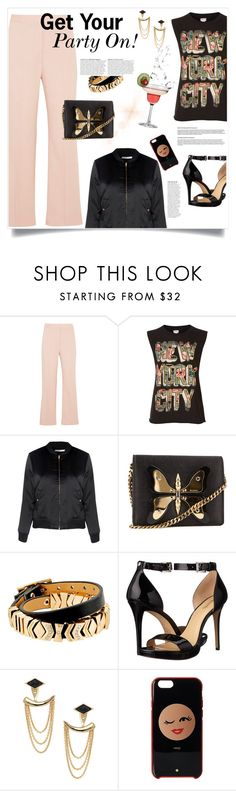 """""""Girls Night Out: Summer Edition"""" by judysingley-polyvore ❤ liked on Polyvore featuring STELLA McCARTNEY, Denim & Supply by Ralph Lauren, Glamorous, Gucci, GUESS, MICHAEL Michael Kors, Stella & Dot, Anja, Kate Spade and girlsnightout"""
