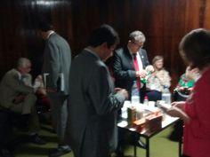 Fila de deputados contra o impeachment (Foto: Fernanda Calgaro/ G1)