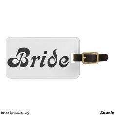 Bride Bag Tag