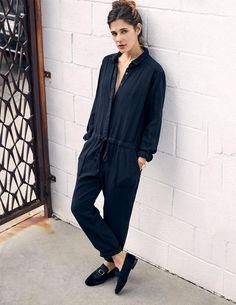 526a231406bb Tavern Twill Black Beauty Truitt Jumpsuit