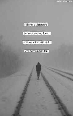 A difference between denial, fate and Destiny. Love relationship quote