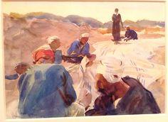 John Singer Sargent - watercolor - Brooklyn Museum of Art exhibit in 2013