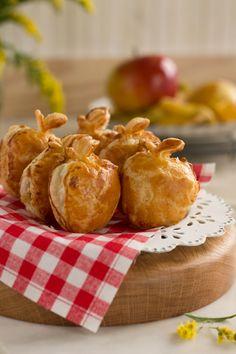 Receta de pastelitos de manzana Becauseblog Puff And Pie, No Cook Appetizers, Christmas Sweets, Sweet Life, Healthy Recipes, Healthy Food, Bon Appetit, Deserts, Favorite Recipes