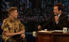 Justin Bieber on Late Night with Jimmy Fallon Interview!