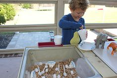 Sensory Bin/Table/Play   Activities For Children   Sensory Activities, Things to do with infants   Play At Home Mom