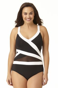 9b5e94798bf89 43 Best Plus Size Print Swimwear images in 2018 | Plus size ...