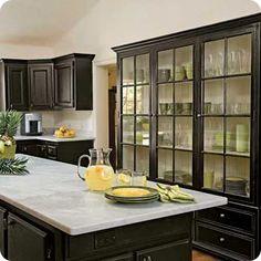 Sure do love black cabinets