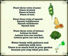 Discover and share Garden Poems And Quotes. Explore our collection of motivational and famous quotes by authors you know and love. Garden Poems, Garden Quotes, Organic Gardening, Gardening Tips, Container Gardening, Squash Plant, Reap What You Sow, Love One Another, Plant Growth