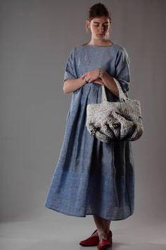multicolour short bucket handbag in heavy crocheted linen and cotton - DANIELA GREGIS