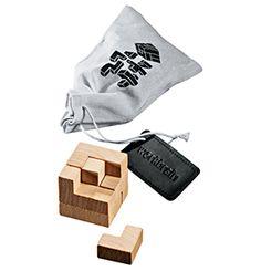 D Wooden Puzzles PROSPERITY DEVINE 3 Brain Teaser 3