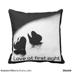 Browse our amazing and unique Love wedding gifts today. The happy couple will cherish a sentimental gift from Zazzle. Postive Vibes, Sentimental Gifts, Love At First Sight, Wedding Gifts, Romantic, Throw Pillows, Wedding Day Gifts, Toss Pillows, Cushions